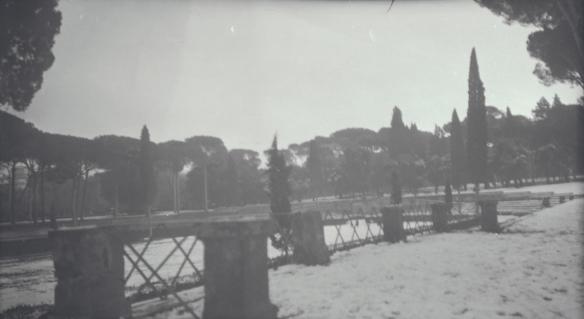 Ashby, Piazza di Siena, Villa Borghese, 1924