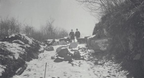 Via Triumphalis, 1922