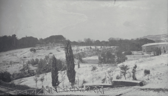 View of Villa Giulia from the BSR, 1921