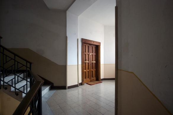 E Simpson, Stairwell - ICP Housing at Citta Giardino Aniene, 2013