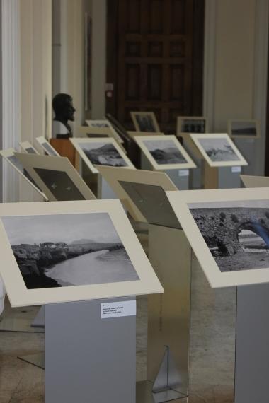 The accompanying exhibition at the launch of 'La Regina Viarum e la via Traiana. Da Benevento a Brindisi nelle foto della collezione Gardner'