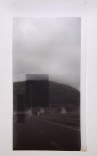 "D Genadry, ""Focal Point"", 2014, 90 x 180 cm, digital print on mylar"