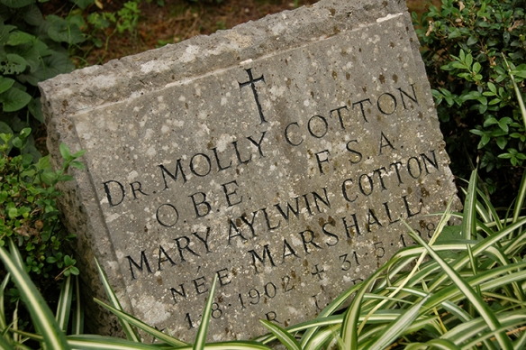 Photo_Sophie Hay_ 30th Anniversary of Molly Cotton death in Non Catholic Cemetery Rome 31_05_14_2