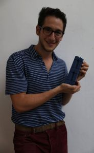 Adam with his Blueprint Award