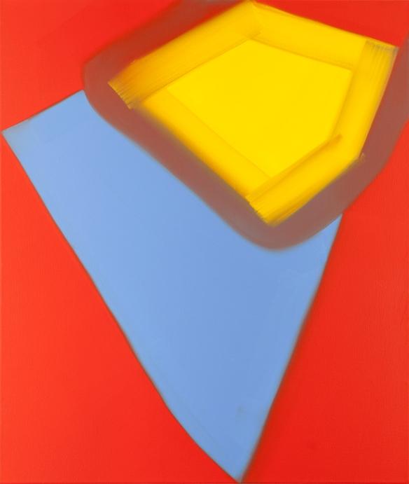 N Milner, Flushed - Oil on Canvas, 2014