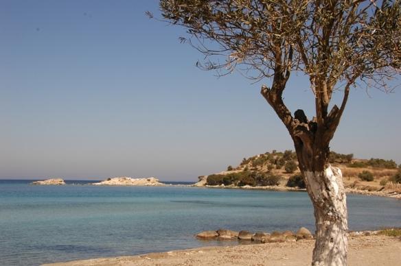 View of the Kane peninsular, Turkey
