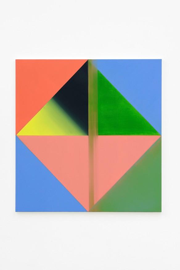 Nancy Milner, Untitled, 2014. Oil on canvas, 120x115cm.