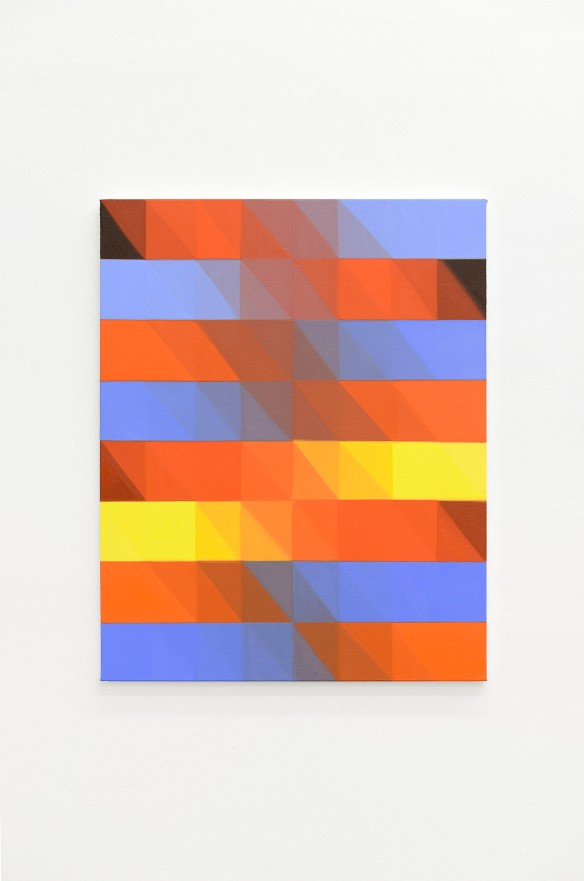 Nancy Milner, Untitled, 2015. Oil on canvas, 75x60cm