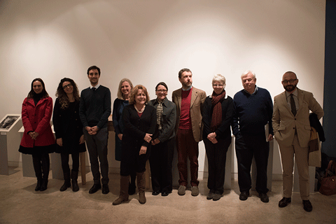 Researchers of the John Marshall Archive Research Project. Photo by Antonio Palmieri.