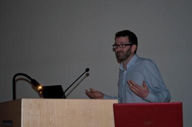 Caspar mid lecture