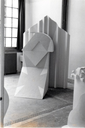 Work from Michael's studio at the BSR (1964-5)