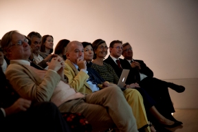 Our guests enjoying the lecture