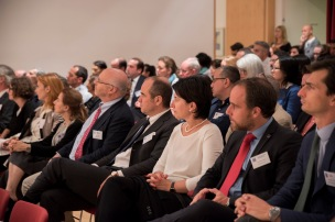 Guests from the BSR and London Business School. Photo credit: Antonio Palmieri