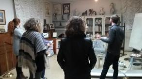 In the studio of De Chirico