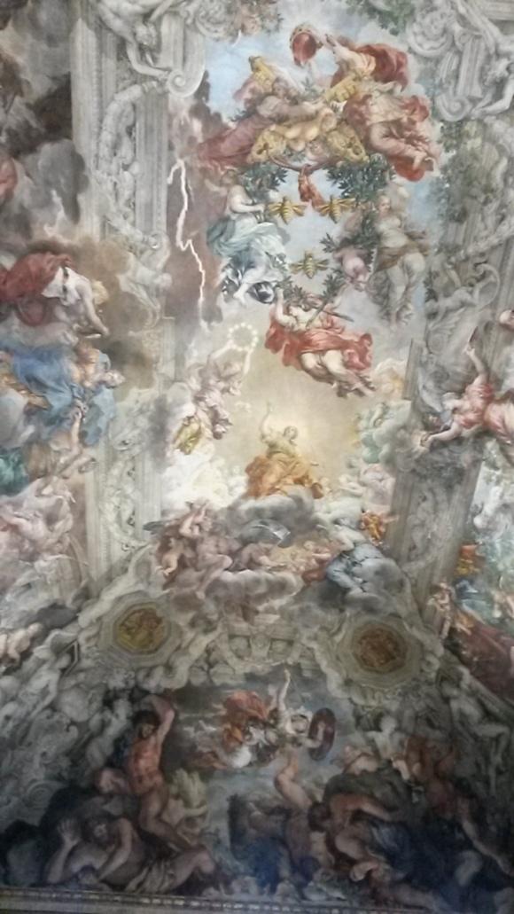 Pietro da Cortona's Allegory of Divine Providence in the Palazzo Barbeini