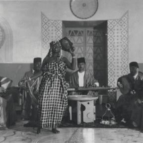 'The Moorish Café' display in the Libya Pavilion, 1940 in Arena, 2011