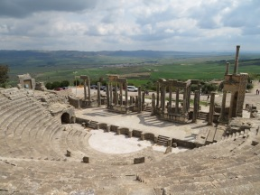 Ruins at Dougga. Photo by Jason Blockley.