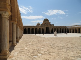 The Great Mosque at Kairouan. Photo by Jason Blockley.