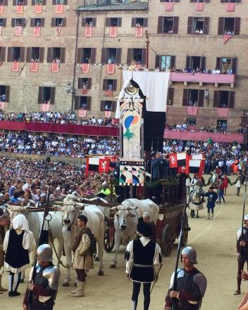 Procession of the drappellone