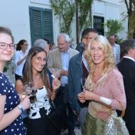 BSR staff Alice Marsh and Christine Martin with BSR Italian teacher Manuela Gazzano
