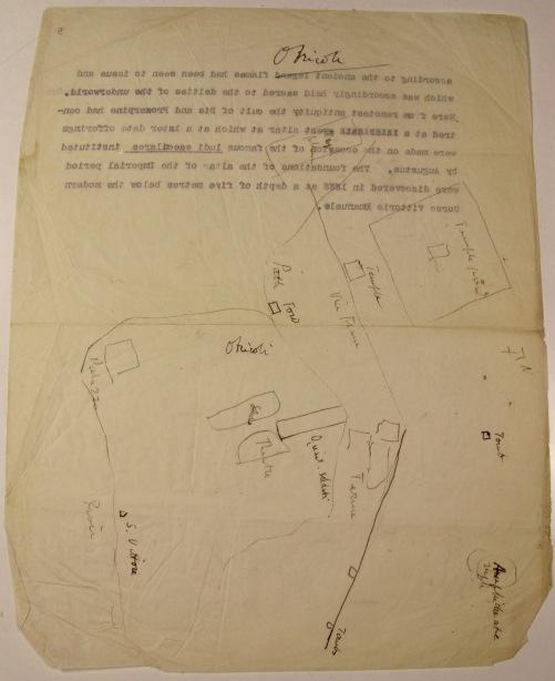 Map of the site of Otricoli copied by Ashby from Giuseppe Antonio Guattani's Monumenti Antichi inediti ovvero Notizie sulle Antichita' e Belle Arti di Roma, vol. 1 (Rome, 1784)..jpg
