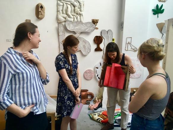 Anna Brass Studio Visit 2