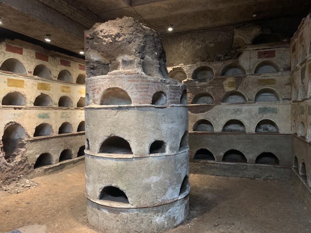The Columbarium at the Sepolcro degli Scipioni_photo credit Donna Storey
