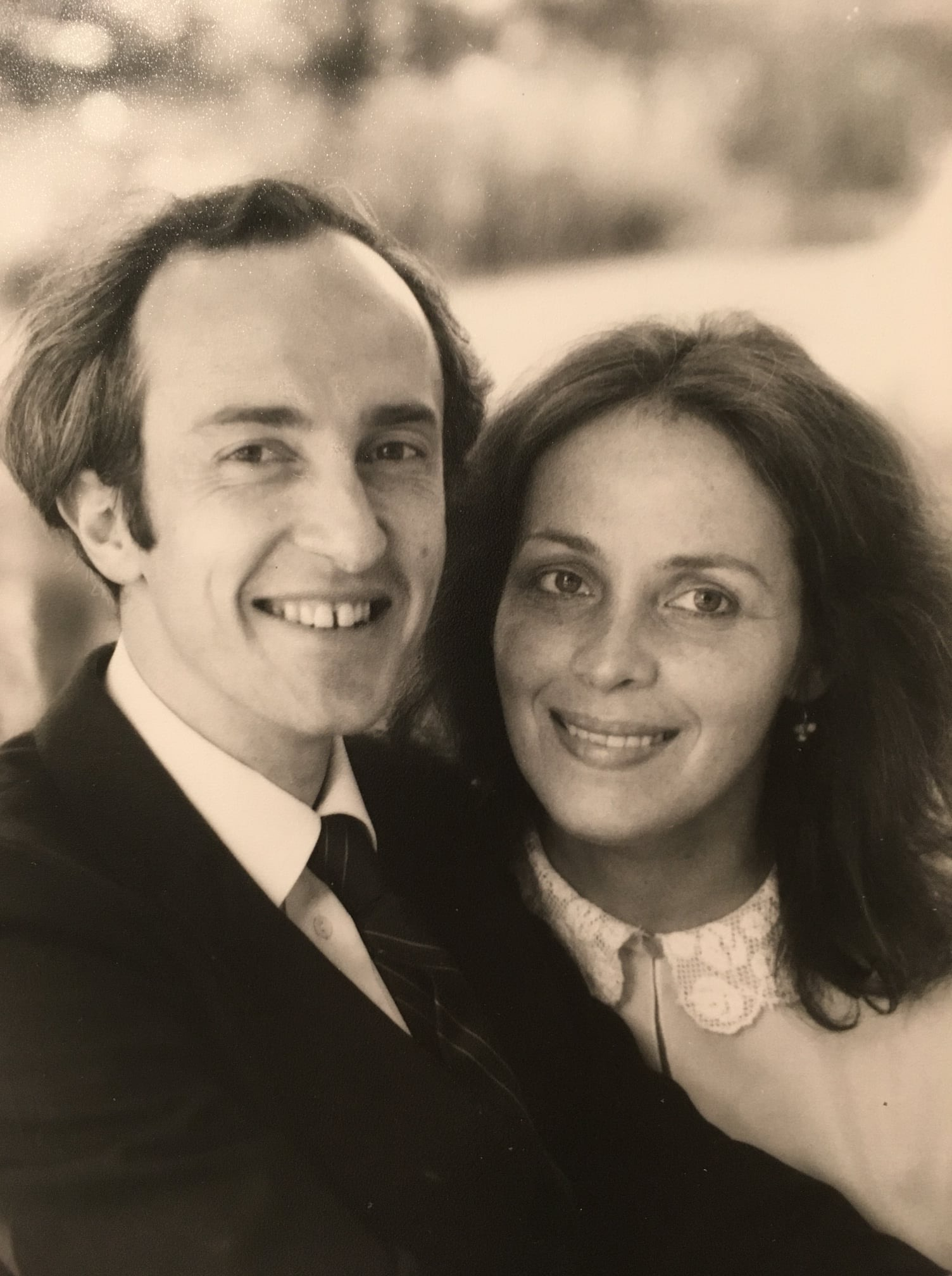 Thérèse and Ron Ridley