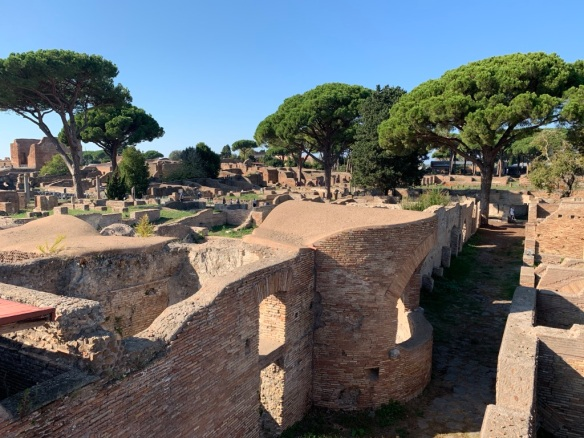 Visiting Ostia Antica _photo credit Donna Storey