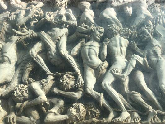 Reliefs from the facade of Orvieto's Cathedral by Lorenzo Maitani.jpg